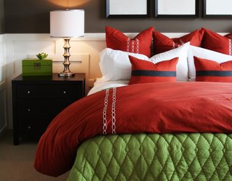 Bedding with Nice Pillow Sham Covers