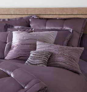 bedding with modern design sham covers